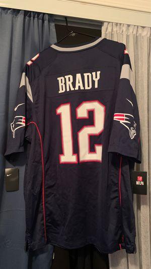 Nike Patriots xl Jersey Brady for Sale in Riverside, CA