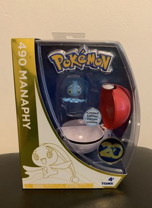 Pokemon 20th anniversary manaphy toy for Sale in Los Angeles, CA
