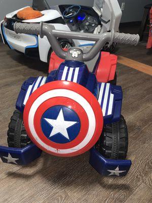 Captain America 4 wheeler for Sale in Houston, TX