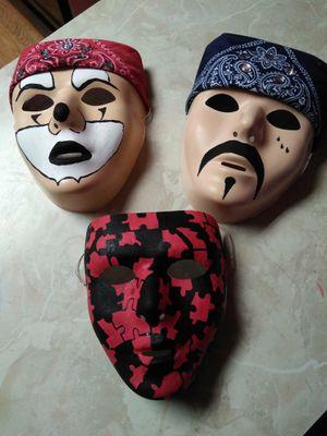 3 Handpainted Handecorated Masks for Sale in La Verne, CA