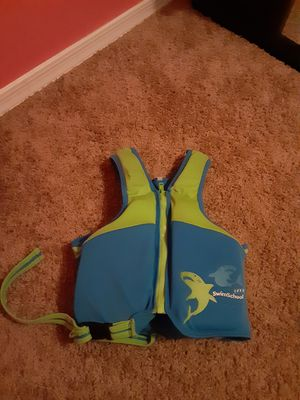 Child's Life Vest-SwimSchool Boys for Sale in Maricopa, AZ