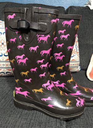 Rain boots Size 6 for Sale in Cedar Hill, TX