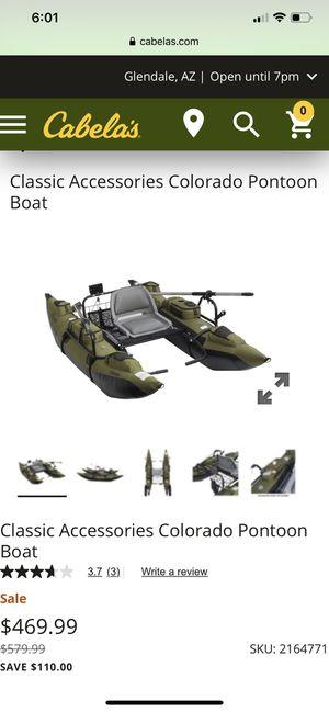 Pontoon float boat for Sale in Hemet, CA