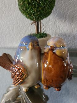 Beautiful glazed ceramic love birds for Sale in Apopka,  FL