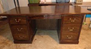 Vintage National Office Furniture solid wood desk for Sale in Warner Robins, GA