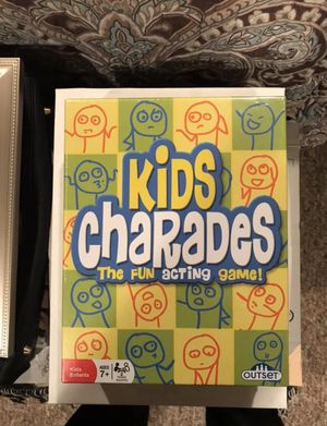 Outset Media Kids Charades Game The Fun for Sale in Westbury, NY