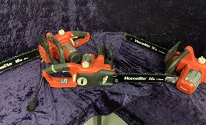 💥🛠🧰 Homelite Corded Chainsaws! Only $25 each today!! 💥🛠🧰 for Sale in Irving, TX