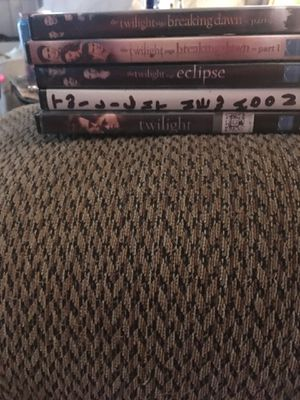 Twilight series DVD for Sale in Fort McDowell, AZ
