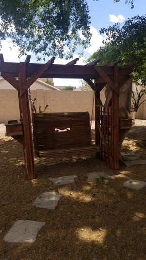 Outdoor porch swing for Sale in Chandler, AZ