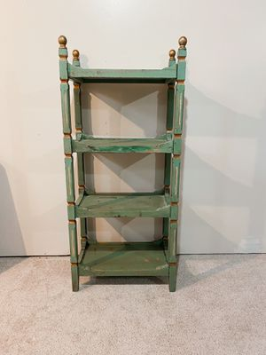 Shabby chic/farmhouse vintage style bookcase for Sale in Traverse City, MI