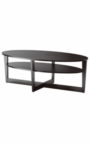 IKEA coffee table, black brown for Sale in Alexandria, VA