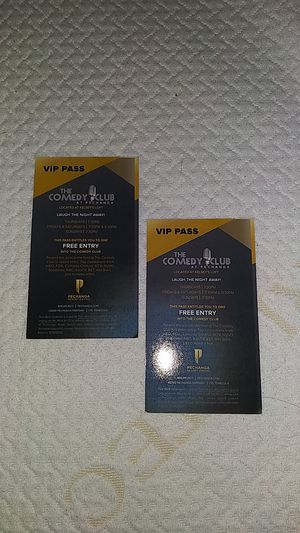 !!$15 For Two!! The Comedy Club VIP Pass Tickets for Sale in El Cajon, CA