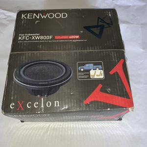 Kenwood KFC-XW800F Flat Subwoofer for Sale in Oak Lawn, IL