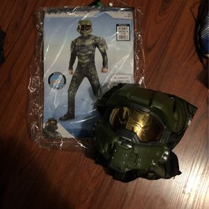 Halo Muscle Kids Halloween Costume Size M (7-8) for Sale in Los Angeles, CA