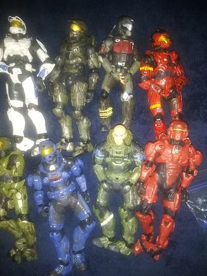 Halo collection figures for Sale in Winter Haven, FL