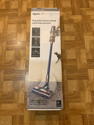 Dyson - V11 Torque Drive Cord-Free Vacuum - Blue/Nickel Brand New for Sale in Miami, FL