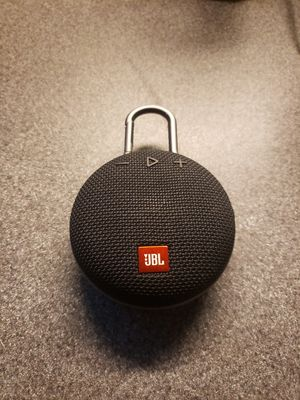Jbl clip 3 bluetooth speaker in black , sounds great and its waterproof. $40 firm for Sale in La Mesa, CA