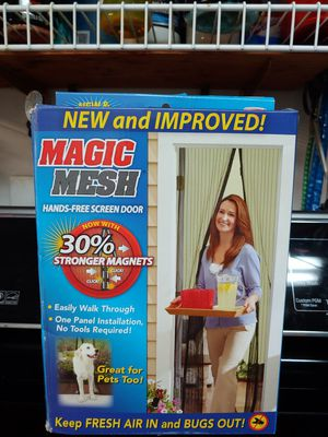 Magic mesh for doors for Sale in St. Louis, MO