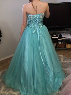 5b2be36f7a Tiffany Blue Quinceanera Dress for Sale in Murrieta