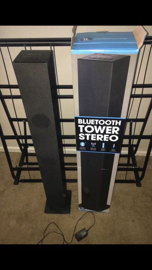 Bluetooth Tower Stereo for Sale in Walnut, CA