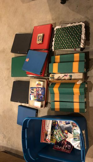 Old baseball card collection (1990s-1980s) for Sale in Haymarket, VA