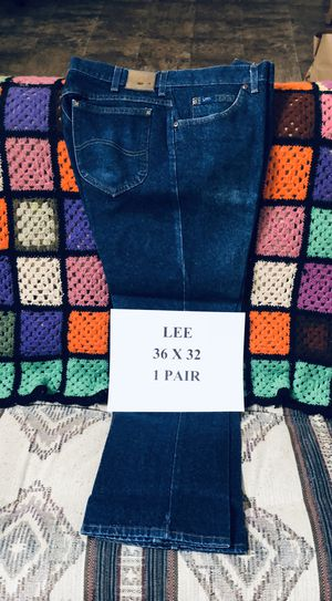 Lee Jeans - 36 x 32 for Sale in Denton, TX