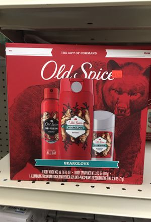 Old Spice Bearglove Gift Pack for Sale in Ontario, CA