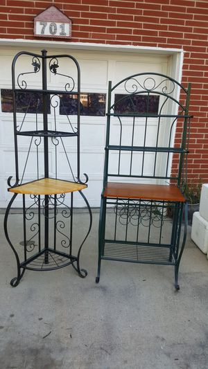 Backers racks and serving table for Sale in Belleville, IL