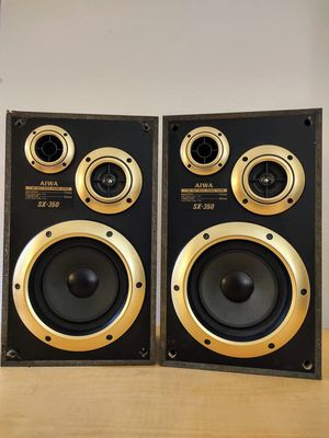 Classic AIWA Stereo 2-Way Bass Reflex Speakers!! for Sale in Guadalupe, AZ