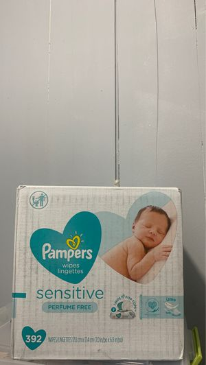 Pampers 392 wipes for Sale in Fort Lauderdale, FL