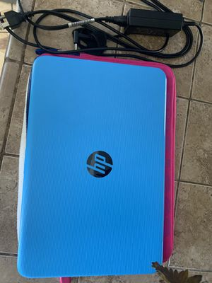 Blue hp laptop for Sale in Fresno, CA