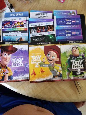 4k/UHD Digital Movie Codes for Sale in Westminster, CA