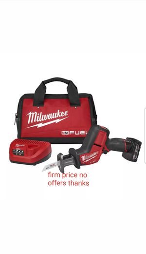 Milwaukee 2520-21XC M12 FUEl HACKZALL Reciprocating Saw Kit for Sale in Upper Marlboro, MD