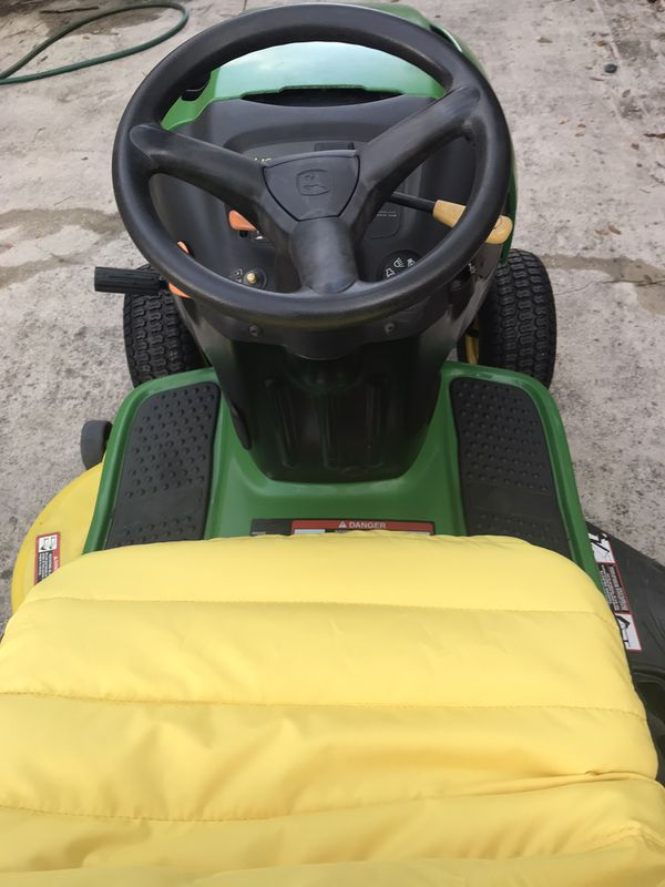 Garage Kept John Deere L100 Tractor 42 Inch Riding Lawn