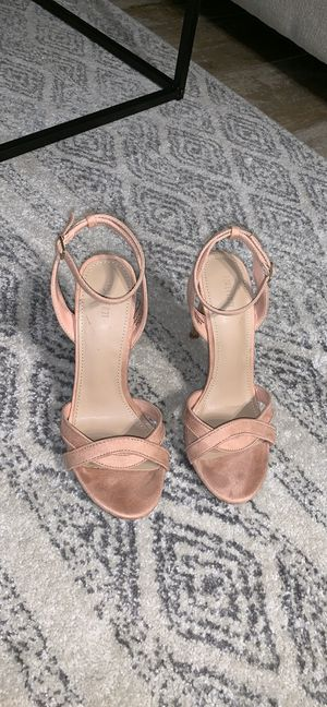 Suede Ankle Strap Heels for Sale in Fort Lauderdale, FL