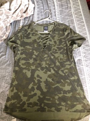 Camo criss-cross shirt for Sale in Joint Base Lewis-McChord, WA