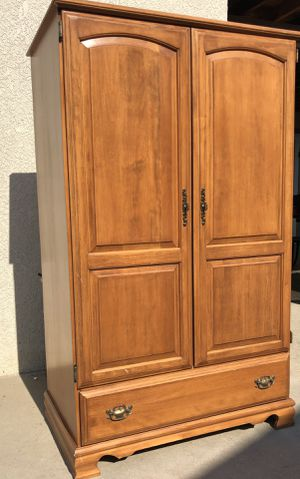 Furniture Armoire Dresser For clothing for Sale in Fresno, CA