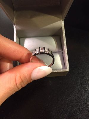 18K Gold plated Baguette Cut Engagement Diamond Ring- for Sale in Princeton, NJ