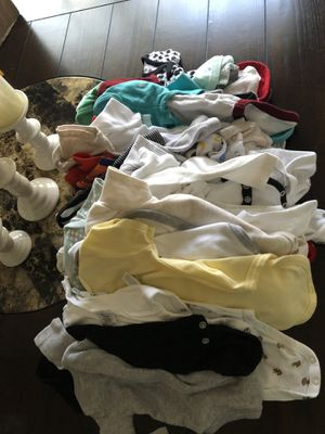 Infant baby boy clothes for Sale in Houston, TX