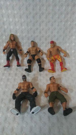 WWE wrestling Mini Figures for Sale in Hemet, CA