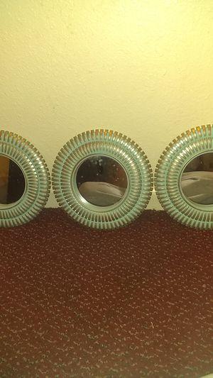 3 small wall mirrors. for Sale in Stockton, CA
