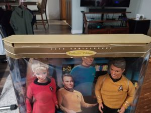 Star Trek Barbie and Ken- box never open for Sale in Long Beach, CA