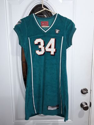 Womens Miami dolphins number 34 dress size large for Sale in San Diego, CA