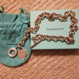 Tiffany & Co. Heart -Toggle Necklace for Sale in Placentia, CA