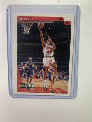 Vintage Jason Caffey Chicago Bulls Basketball Card for Sale in Los Angeles, CA