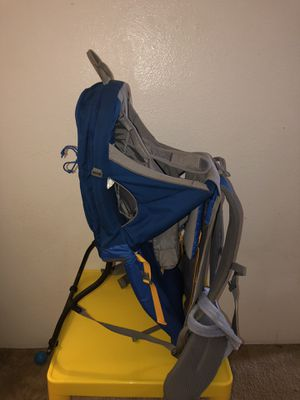 Hiking backpack with child carrier for Sale in Shoreline, WA