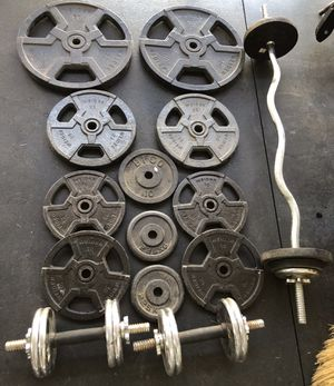 270lbs of weight for Sale in Loma Linda, CA