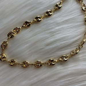 Gold Hollow Puff Chain for Sale in Fort Lauderdale, FL