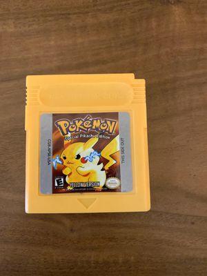 Pokémon Yellow Version Gameboy Color for Sale in Davis, CA