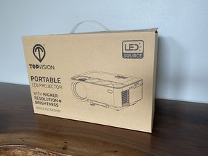 TOPVISION Portable LED projector for Sale in Seattle, WA